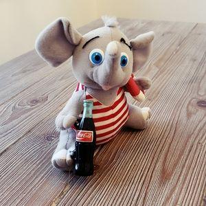 Coca Cola collectable summer elephant